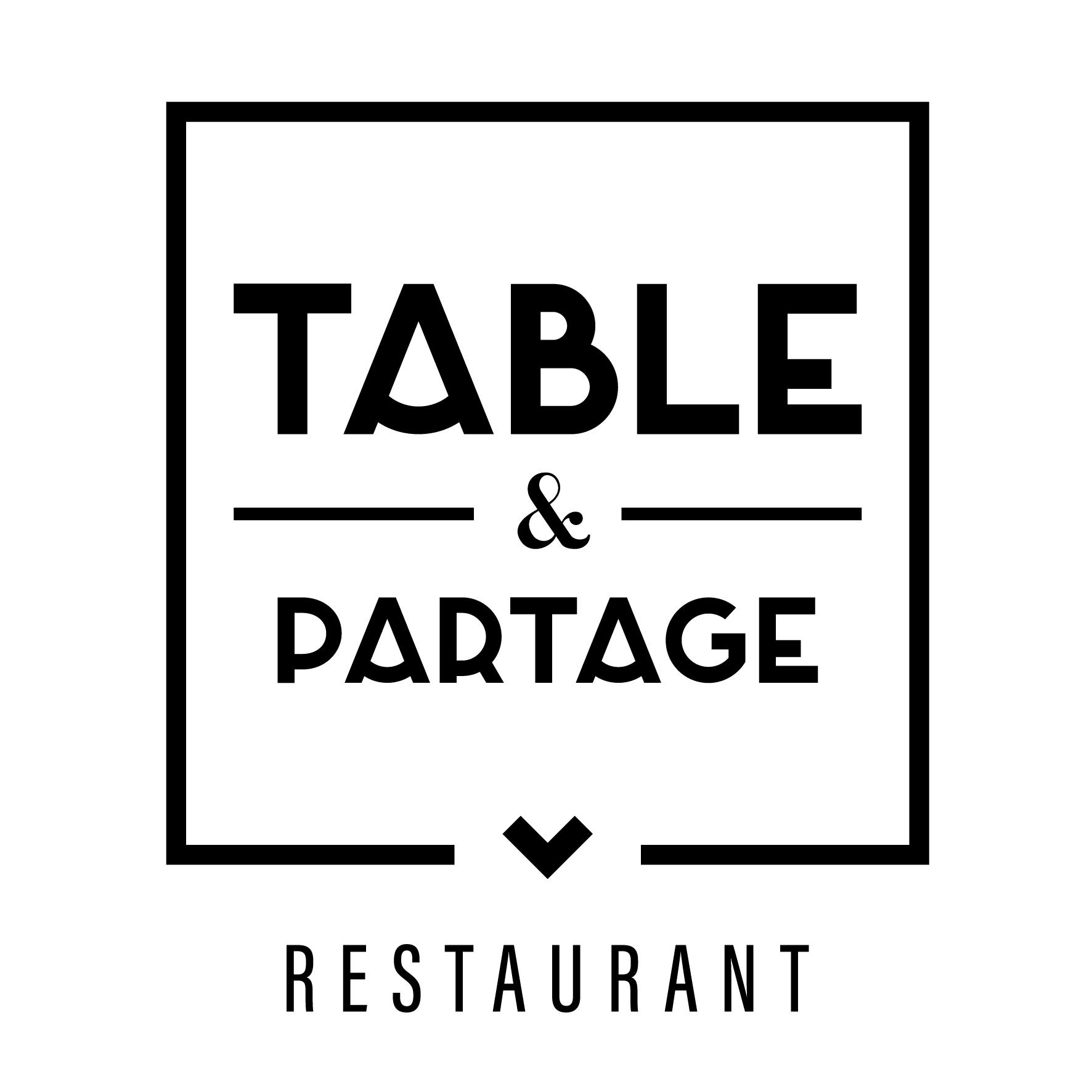 TABLE ET PARTAGE